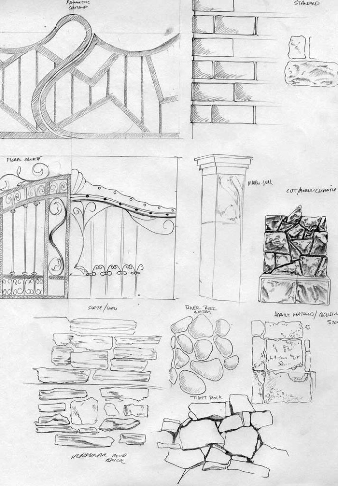 Aschwood Academy - Concept Sketches