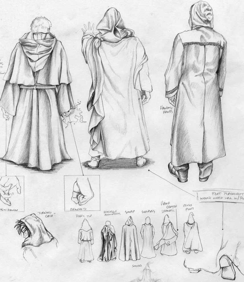 Aschwood Academy - Figure Concept Sketches
