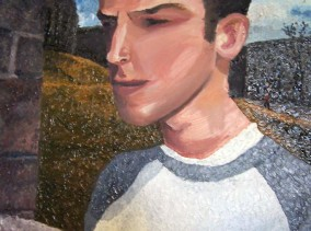 Self Portrait - Impasto