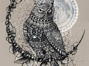 Well Owl Be Damned - Grey