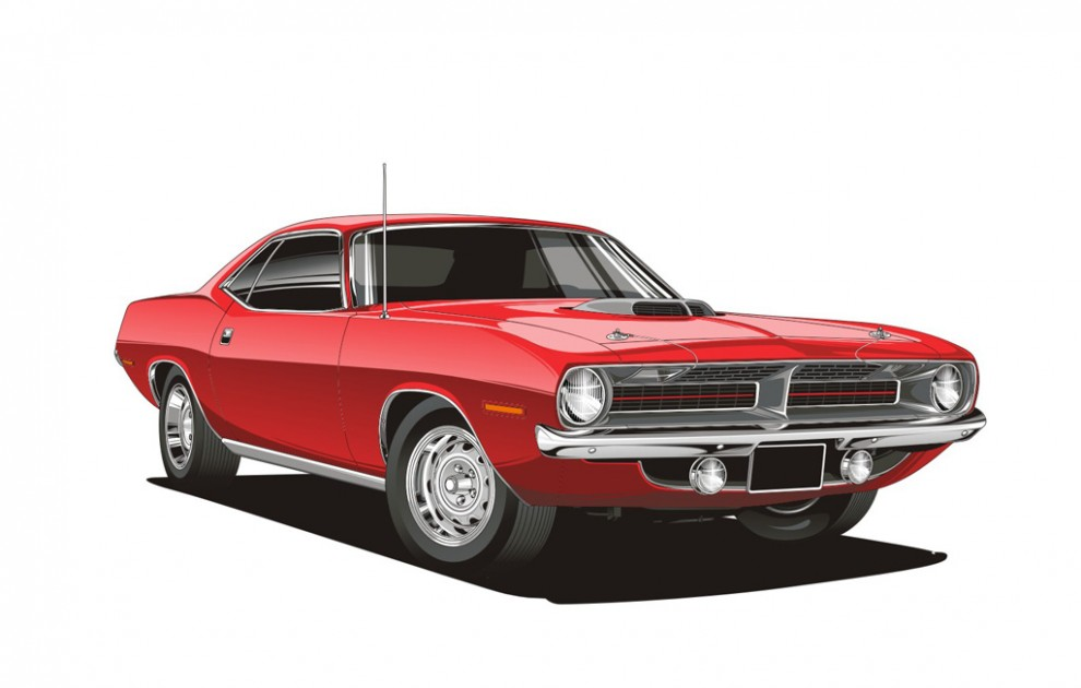 Muscle Car - Without Decals