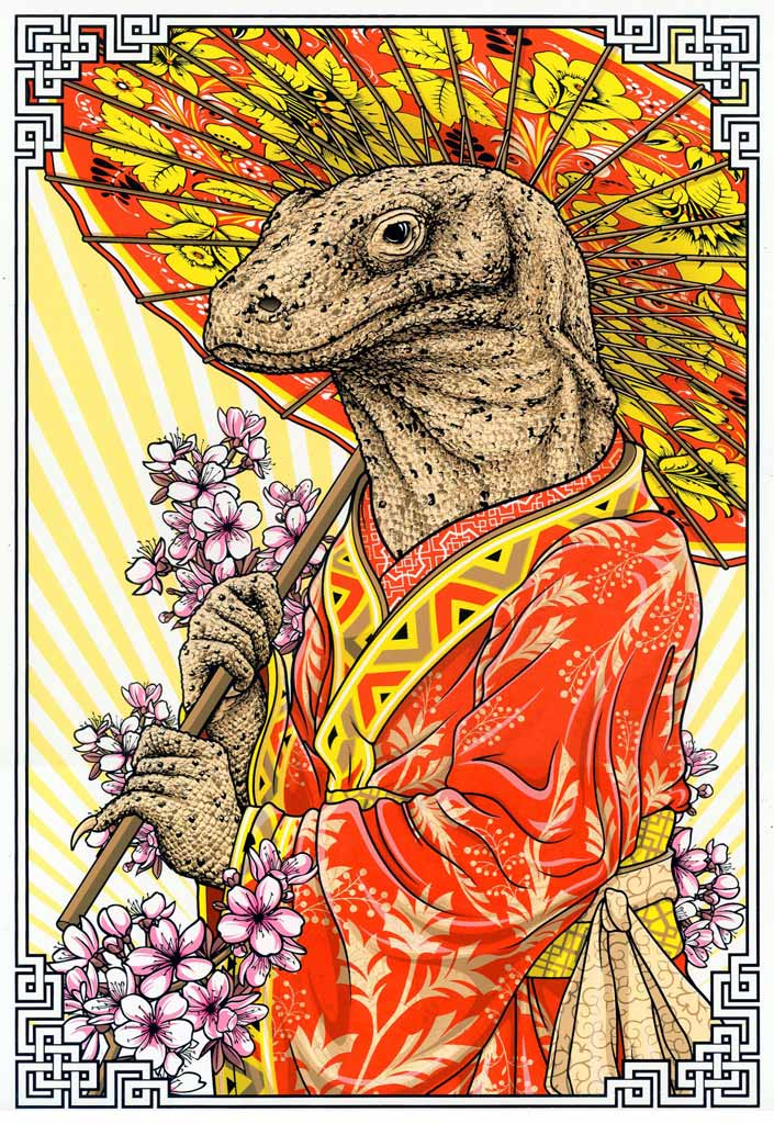 "Accidentally searched ""Kimono Dragon"