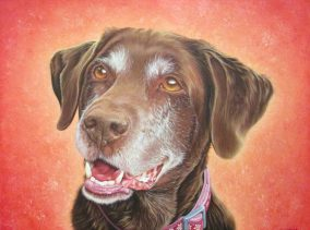 Roxy - Oil on Canvas